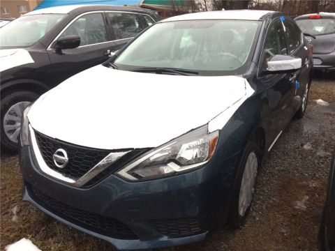 New 2017 Nissan Sentra 1.8 SV (CVT) FWD Car