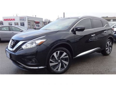 Pre-Owned 2016 Nissan Murano Platinum Fully loaded DEMO GPS NOT A RENTAL AWD