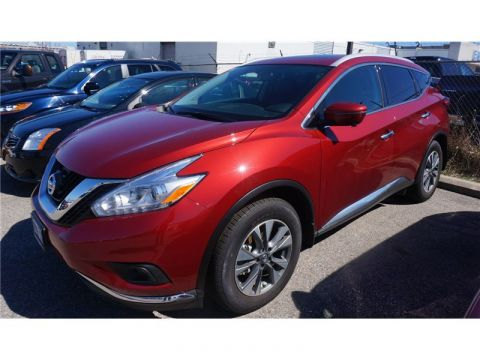 Pre-Owned 2017 Nissan Murano SL AWD DEMO Leather Nav Moonroof AWD