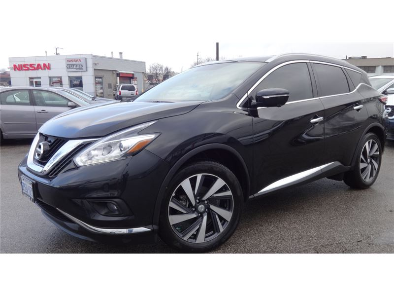 Pre-Owned 2016 Nissan Murano Platinum DEMO GPS NOT A RENTAL LIKE NEW
