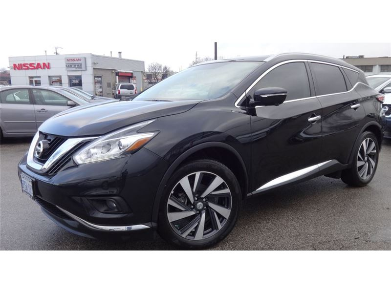 Pre-Owned 2016 Nissan Murano Platinum Fully loaded DEMO GPS NOT A RENTAL